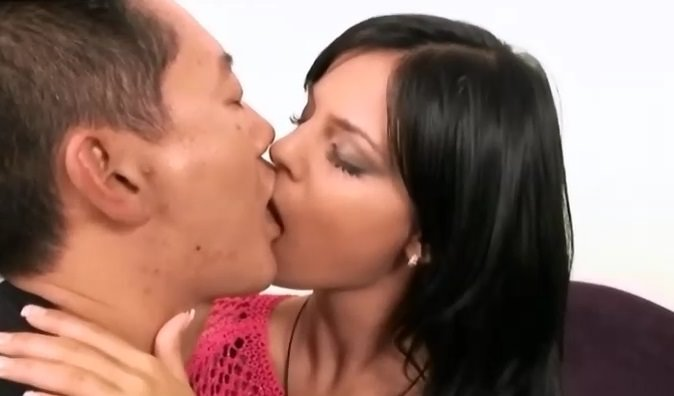Lela Star kissing amwf