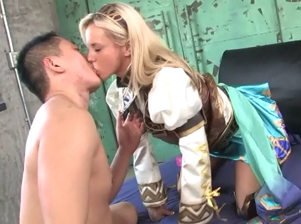 Bree Olson interracial kissing asian guy